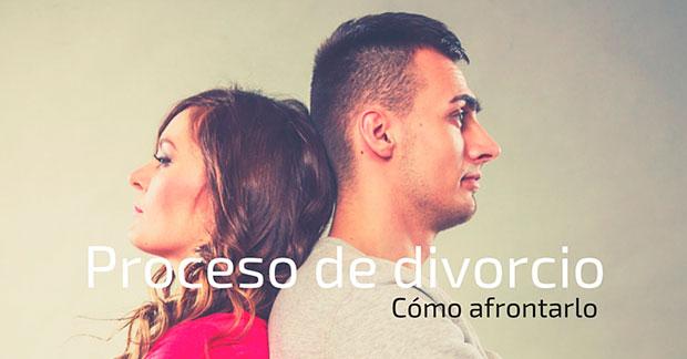 Cómo afrontar un proceso de divorcio