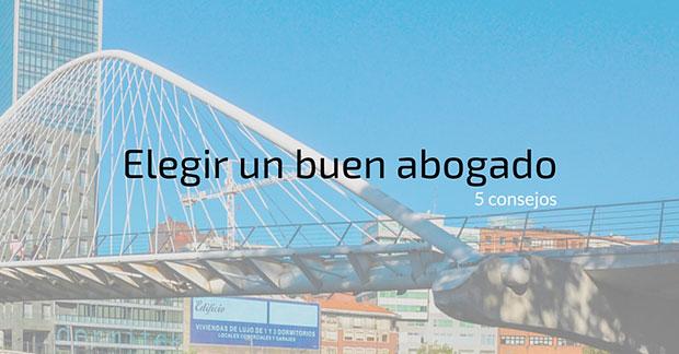 Contratar abogado en Bilbao