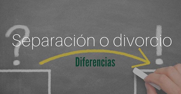 Separación o divorcio, ¿cuáles son las diferencias?