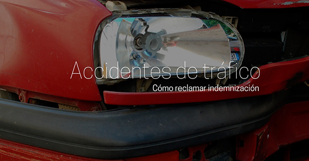 Reclamar indemnización para accidente de tráfico